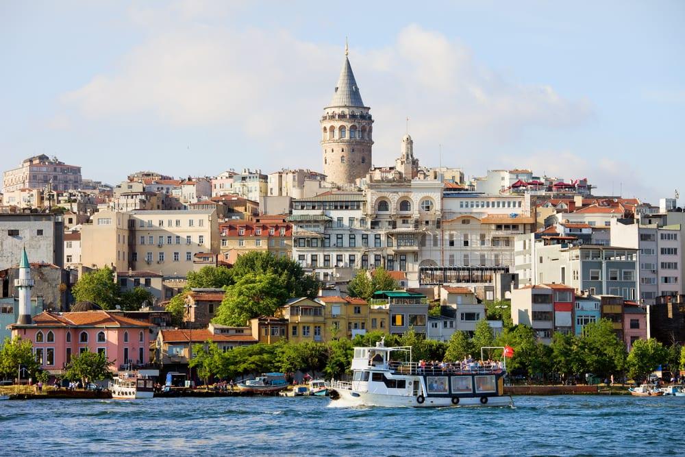 Beyoglu distriktet - Istanbul i Tyrkiet
