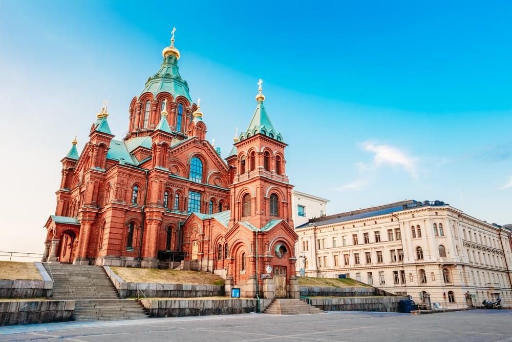 Uspenski katedralen - Helsinki i Finland