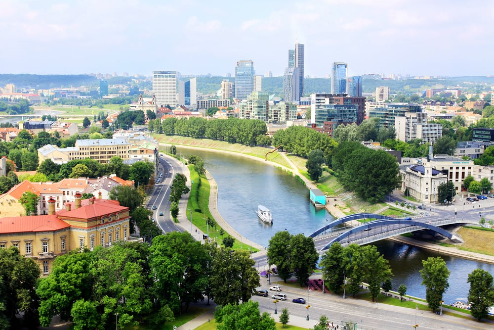 Storbyferie i Vilnius
