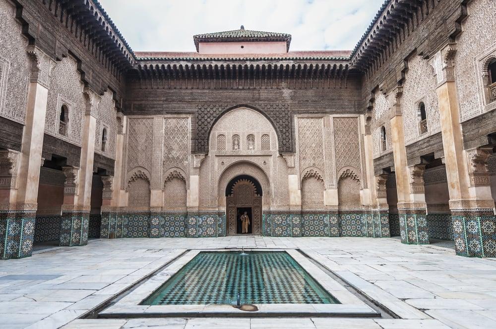 Ben Yussef Medersa - Marrakech i Marokko