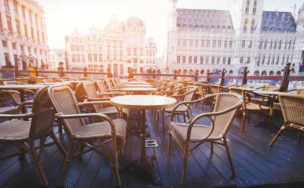 Cafe - Bruxelles i Belgien