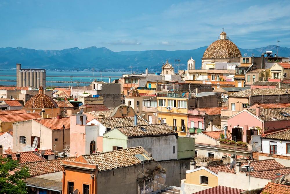 Cagliari - Sardinien i Italien