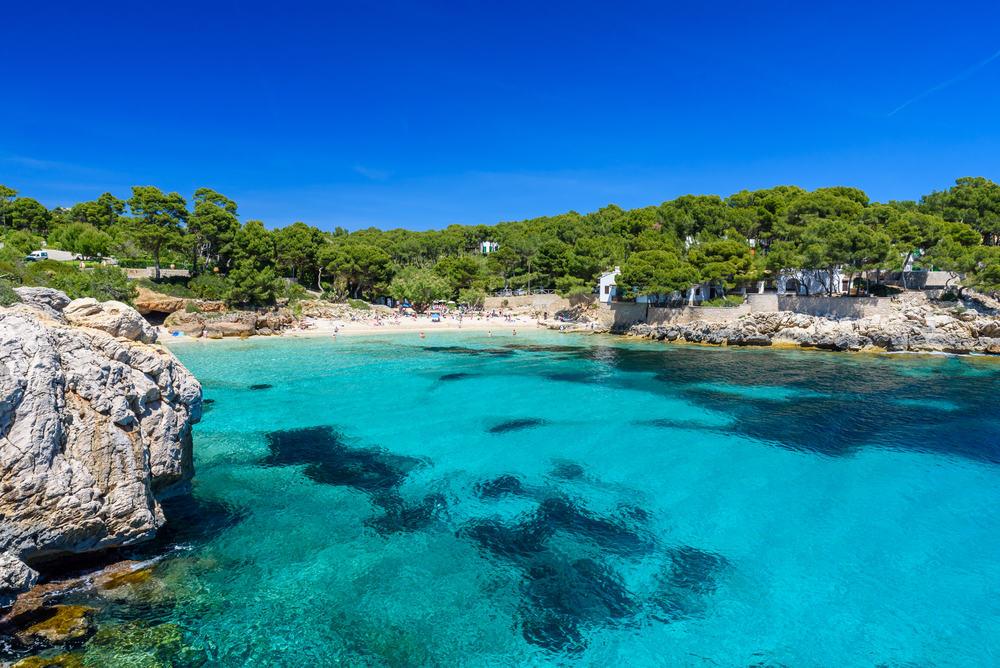 Cala Gataat Ratjada - Mallorca i Spanien