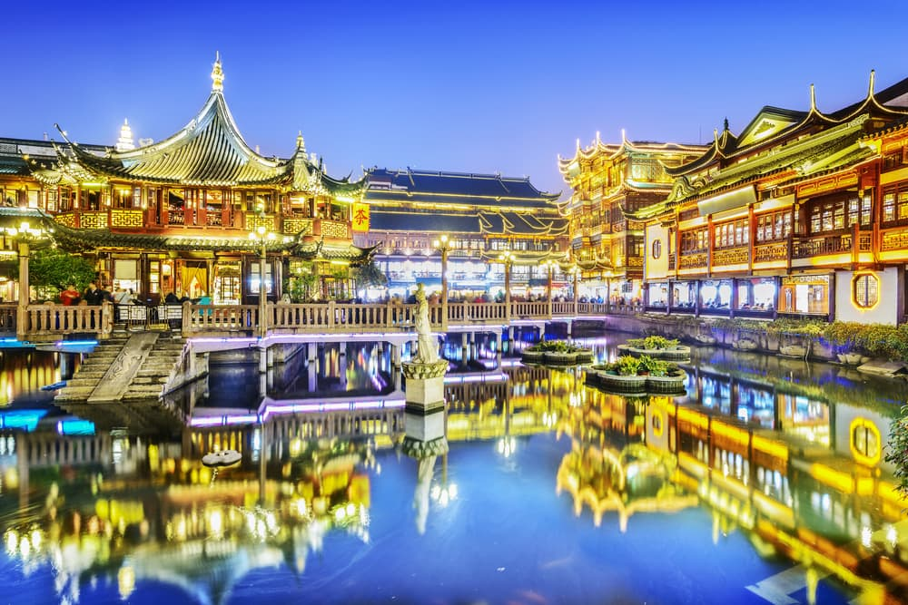 Chenghuang Miao - Shanghai i Kina