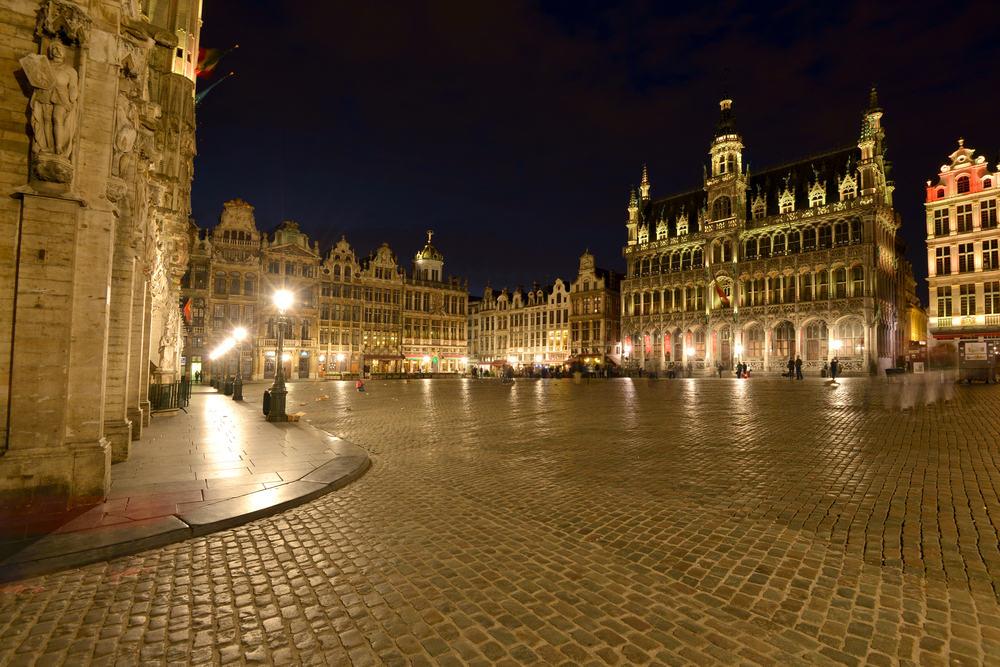 Grote Markt - Bruxelles i Belgien
