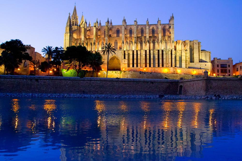 La Seu katedralen - Mallorca i Spanien