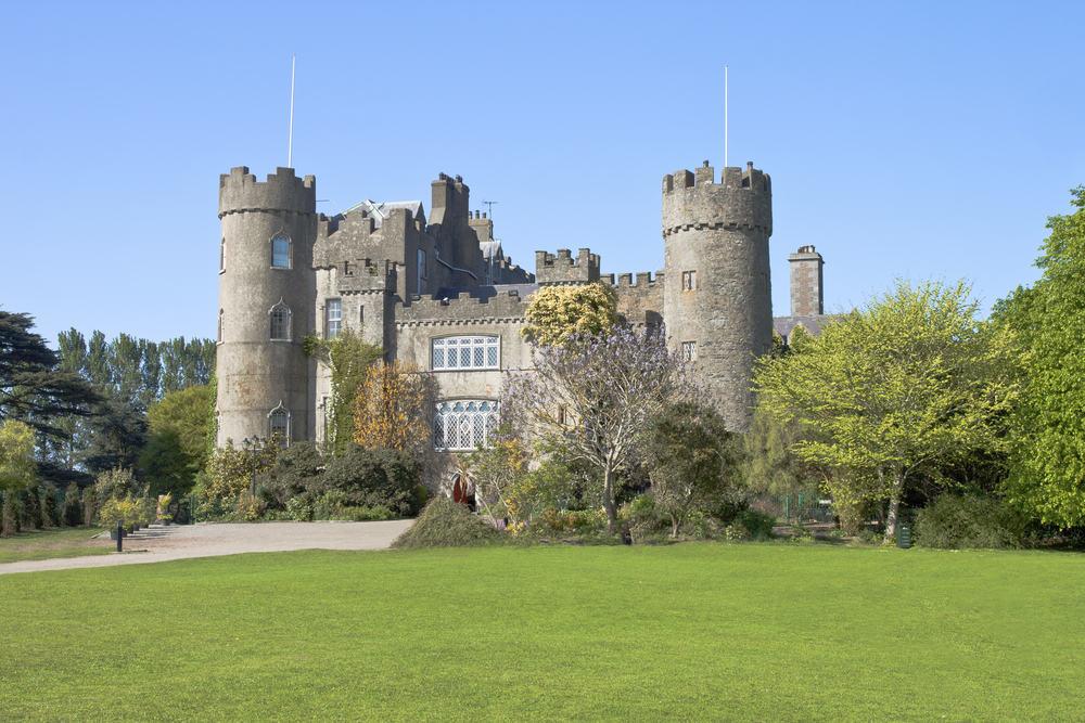 Malahide Castle - Dublin i Irland