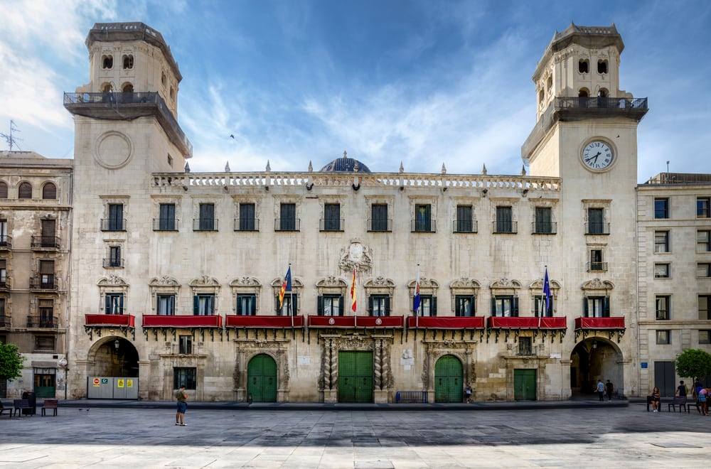 Rådhus - Alicante i Spanien