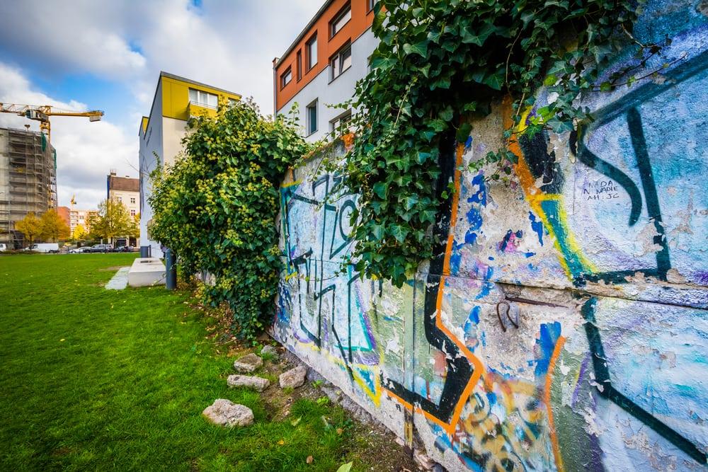 Rester af Berlinmuren - Berlin i Tyskland