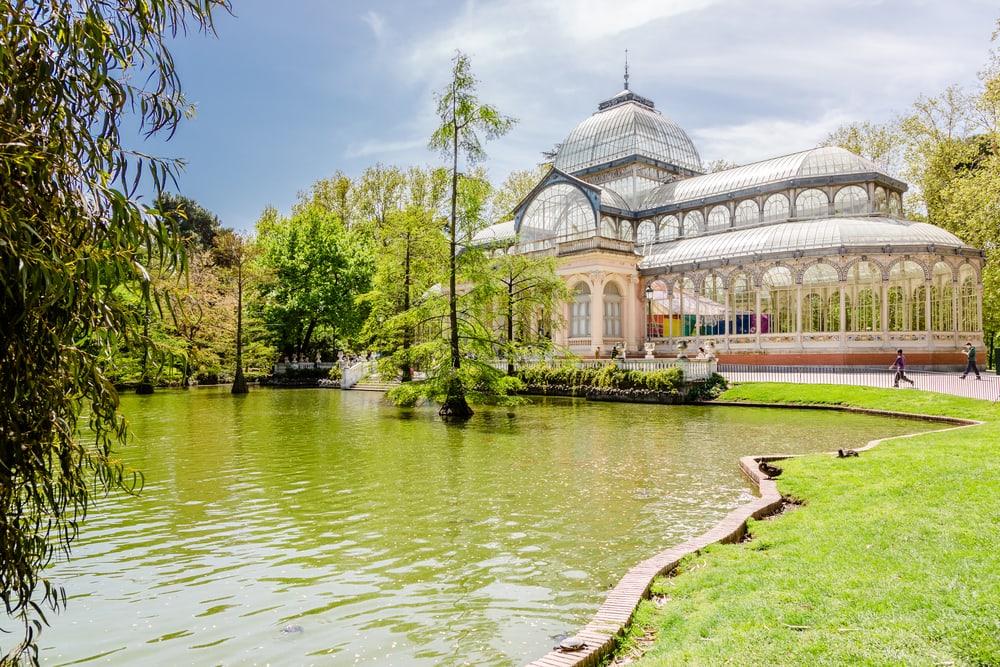 Retiro Park - Madrid i Spanien