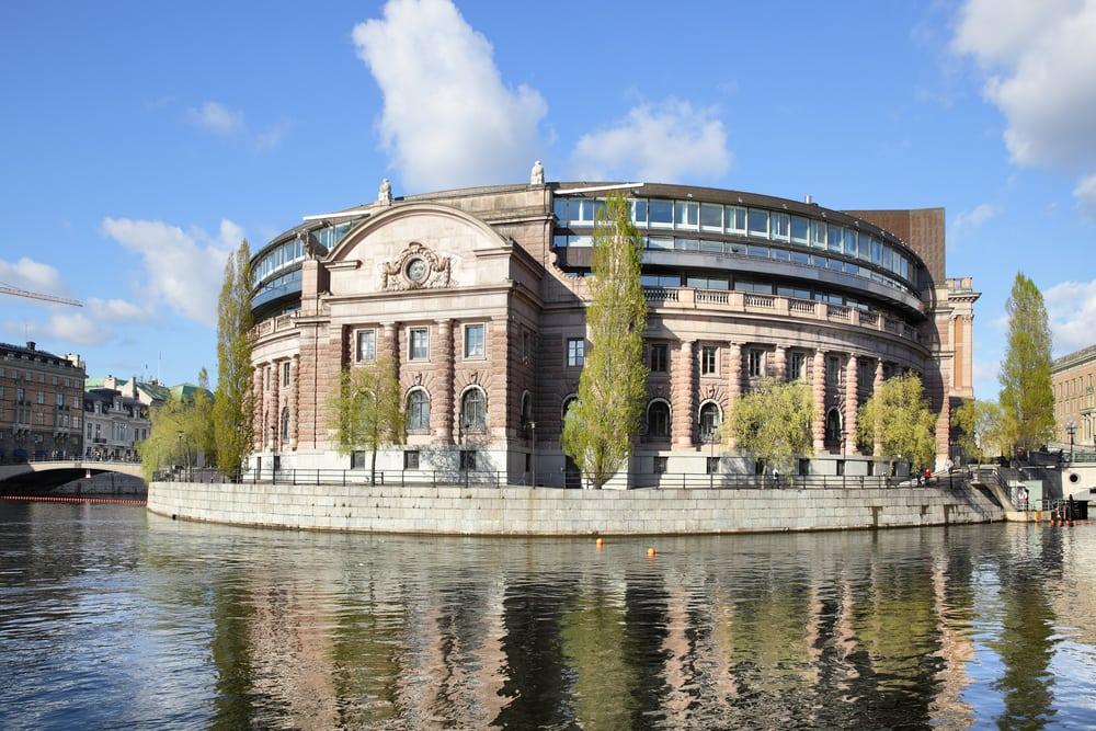 Rigsdagen - Stockholm i Sverige