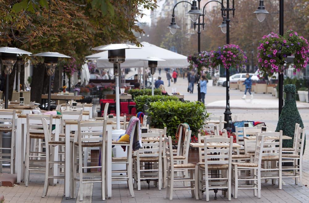 Café - Sofia i Bulgarien