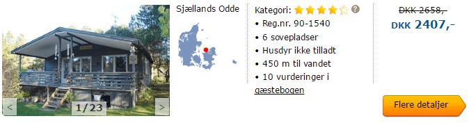 Sommerhus i Sjællands Odde
