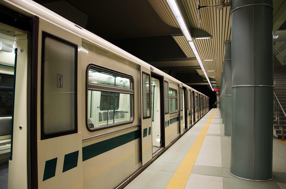 Undergrundsstation - Sofia i Bulgarien