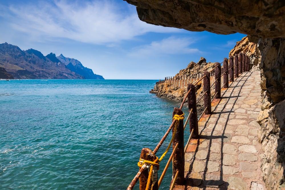 Taganana kysten - Tenerife i Spanien