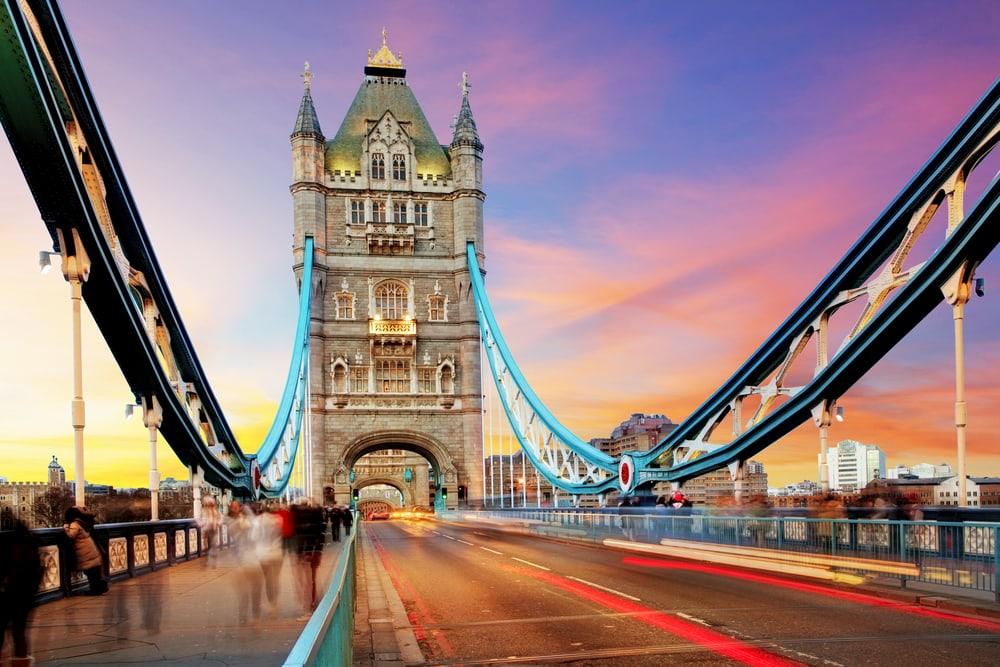 Tower Bridge - London i England