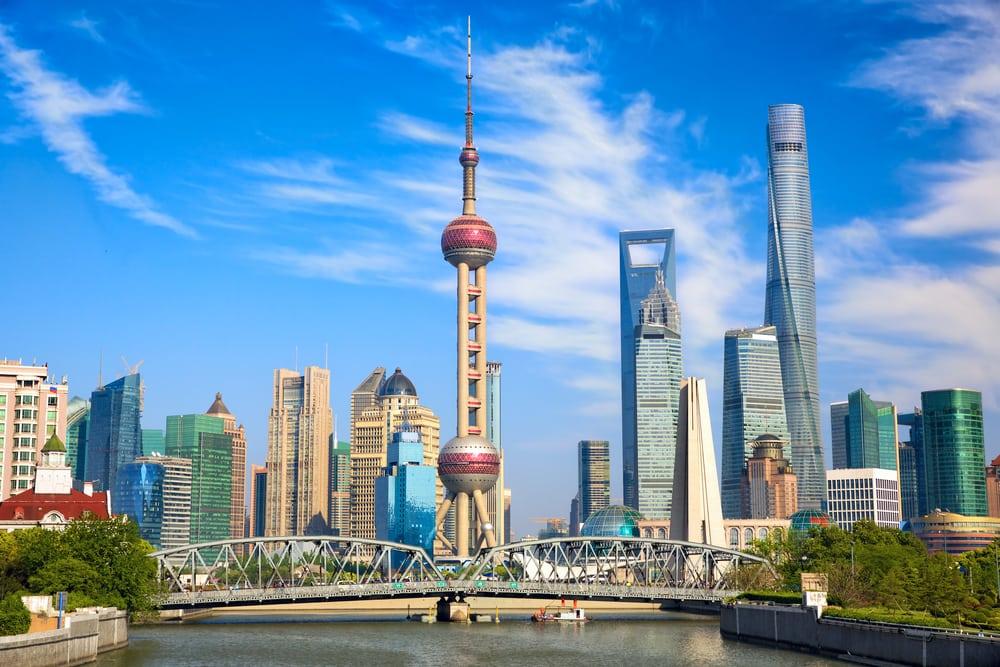 Waibaidu Bridge - Shanghai i Kina