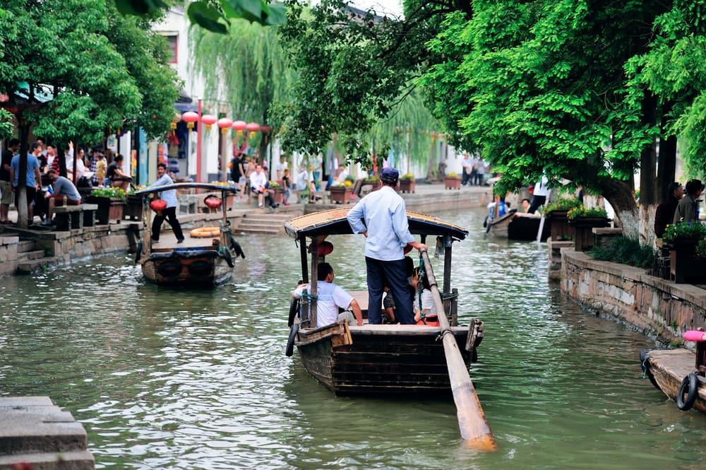 Zhujiajiao - Shanghai i Kina
