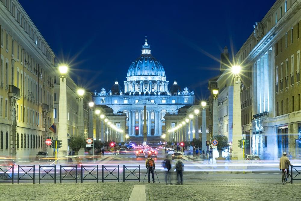 Basilica di San Pietro - Rom i Italien