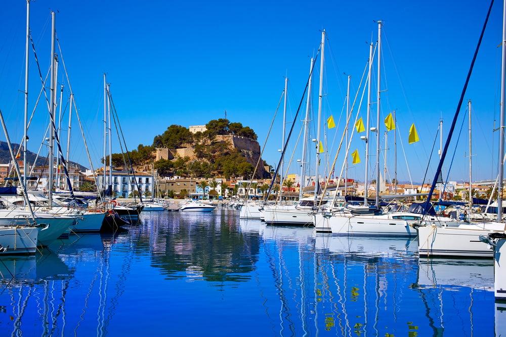 Denia Marina - Alicante i Spanien