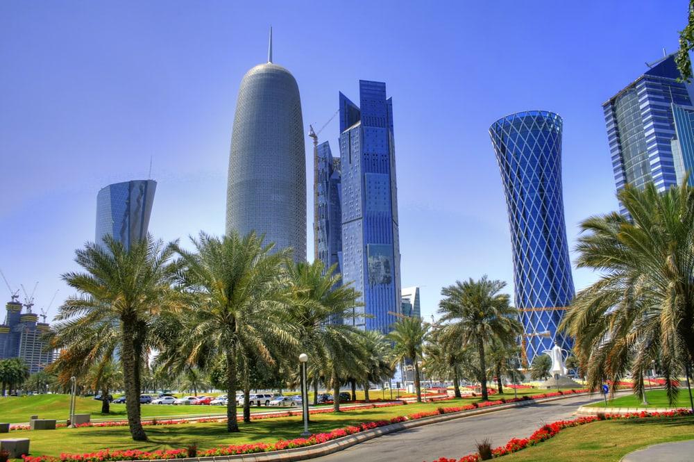 Skyskrabere - Doha i Qatar