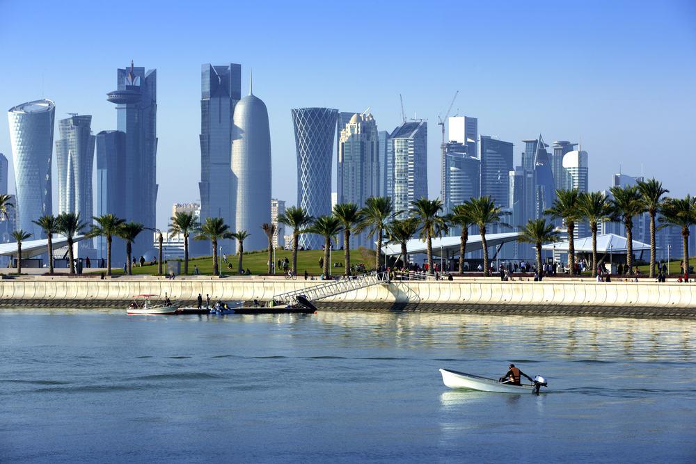 Doha i Qatar