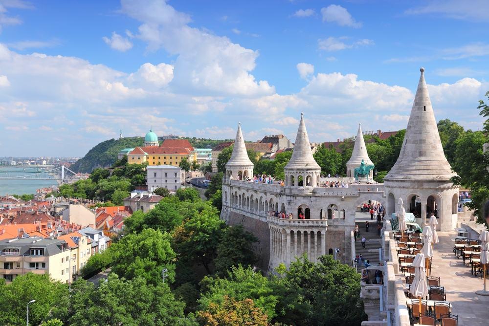 Donau floden - Budapest i Ungarn