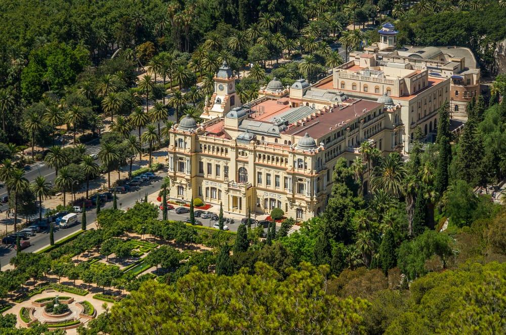 Rådhuset - Malaga i Spanien