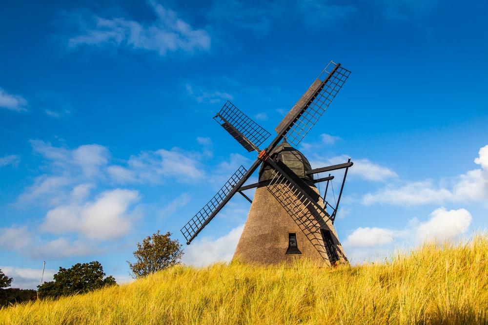 Vindmølle - Skagen i Nordjylland
