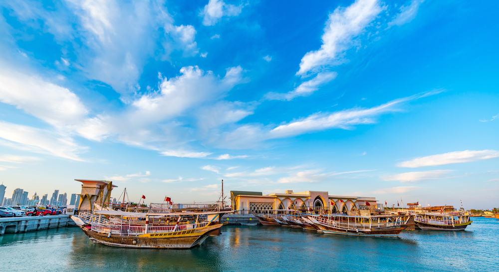 Solopgang - Doha i Qatar