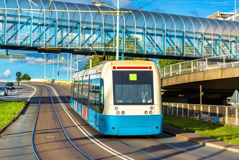 Sporvogn - Göteborg i Sverige