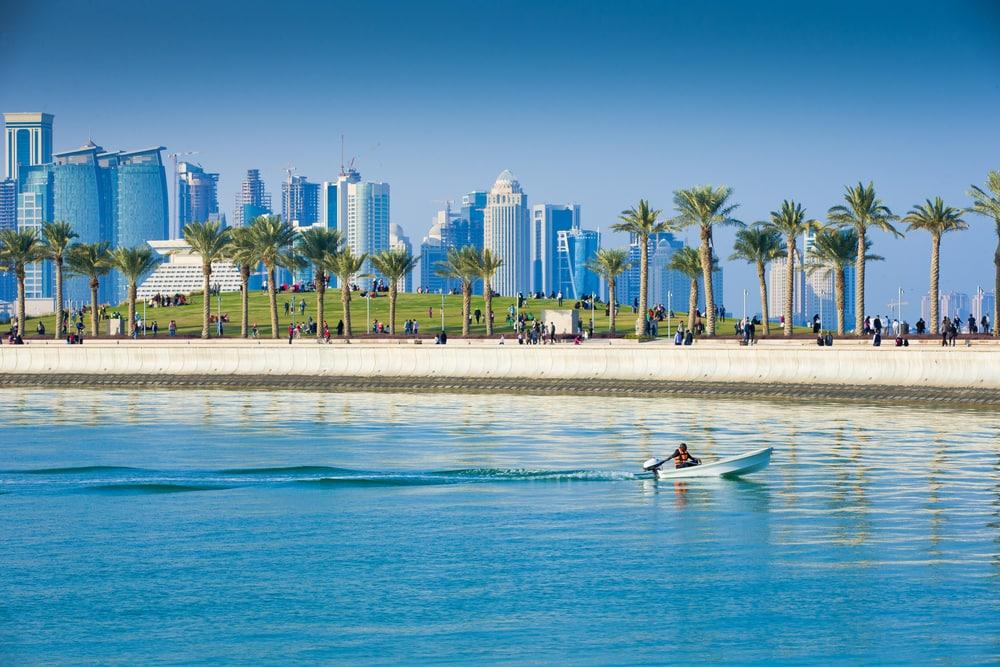 Vandpark - Doha i Qatar