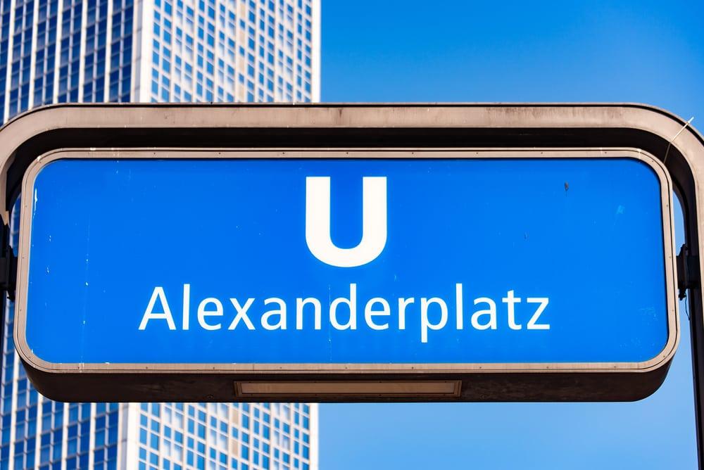 Alexanderplatz - Berlin i Tyskland