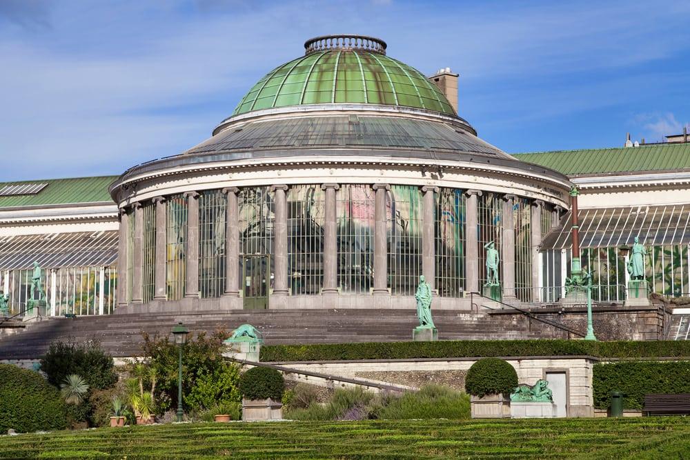Botanisk Have - Bruxelles i Belgien