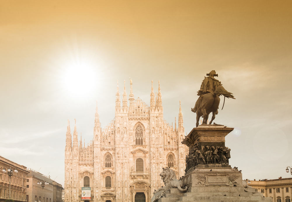 Duomo katedralen - Milano i Italien