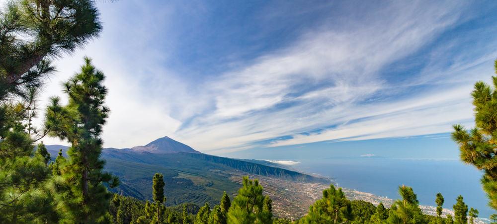 El Teide vulkanen - Tenerife i Spanien