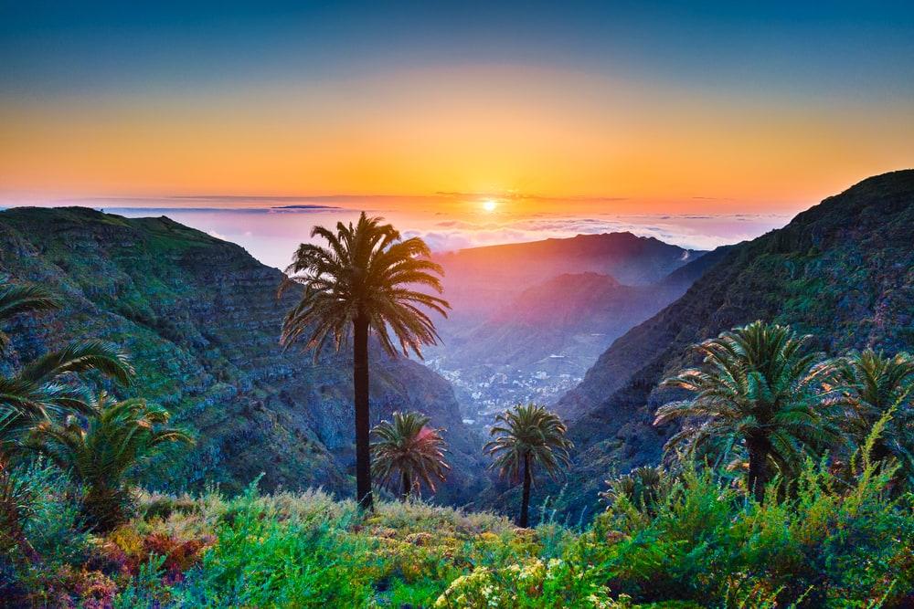 Gran Canaria i Spanien