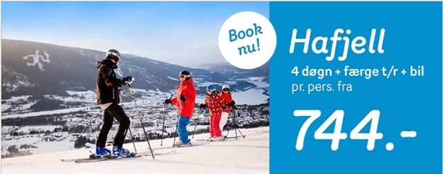 Skiferie i Hafjell i Norge med StenaLine