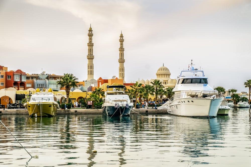 Lystbådehavn - Hurghada i Egypten