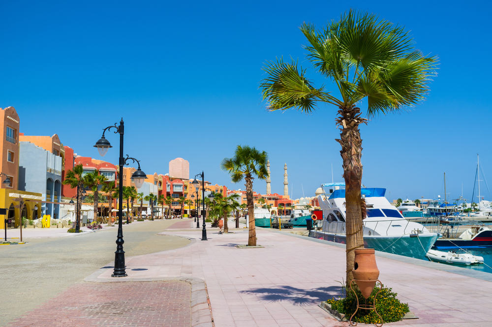 Marina - Hurghada i Egypten