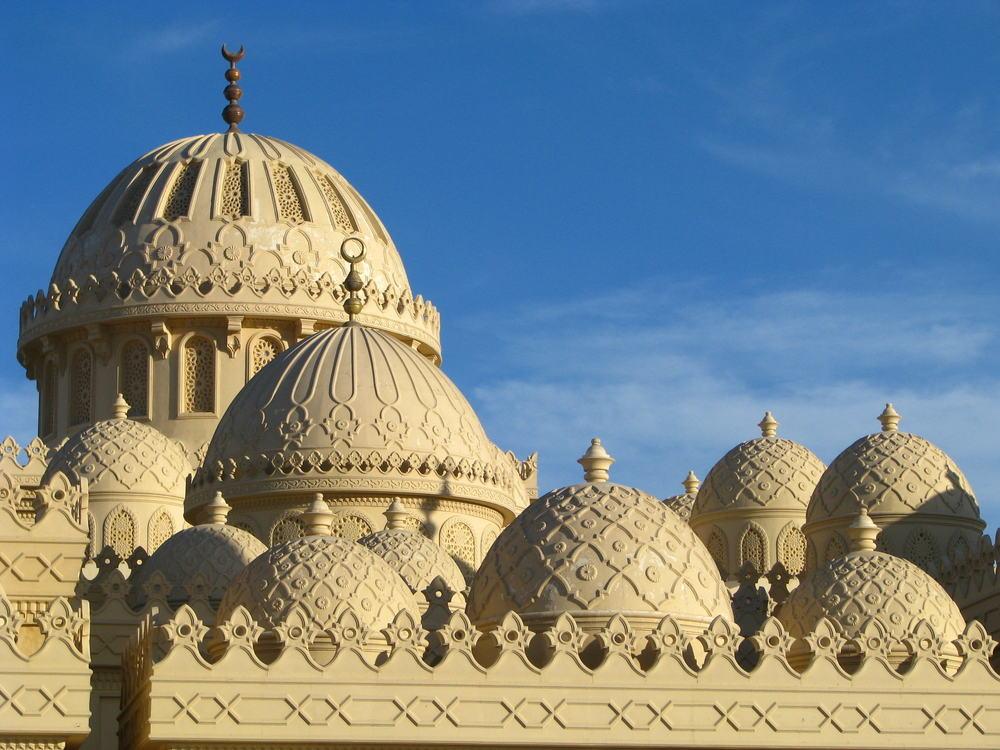 Moske - Hurghada i Egypten