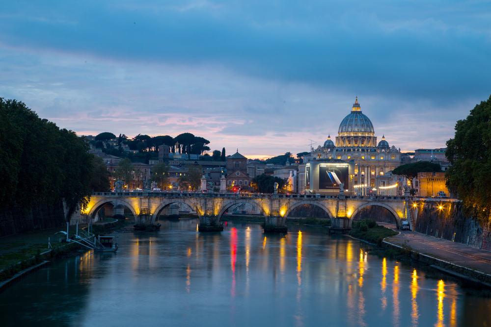 Peterskirken - Rom i Italien