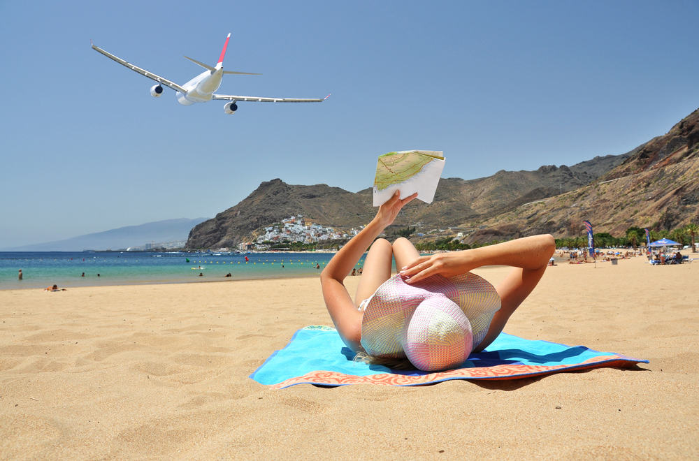 Playa de la Teresitas - Tenerife i Spanien