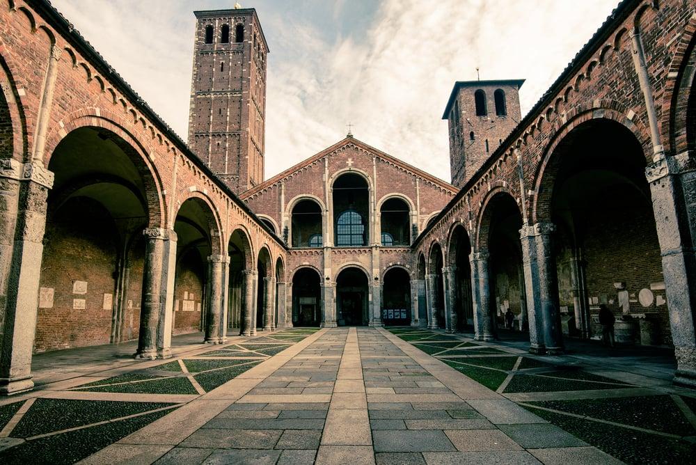 Saint Ambrogio - Milano i Italien