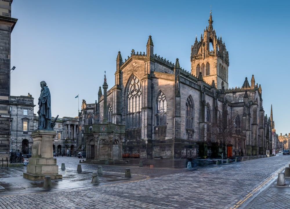 St. Giles Cathedral - Edinburgh i Skotland