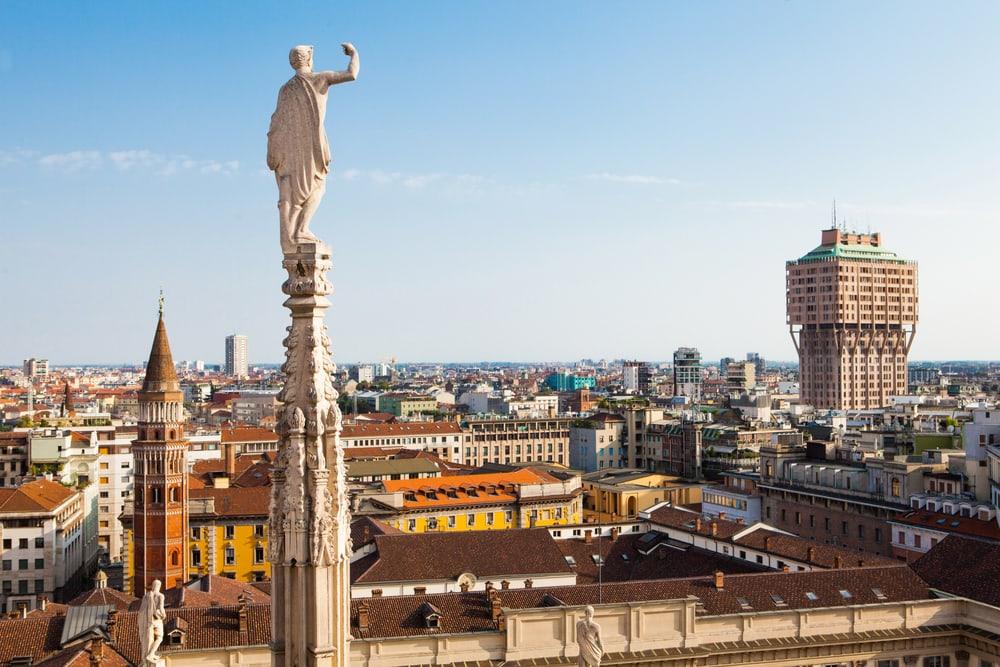 Torre Velasca - Milano i Italien