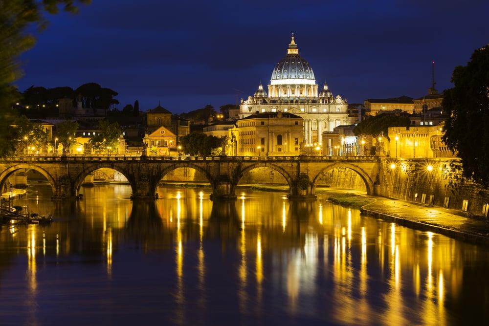 Vatikanstaten i Rom i Italien