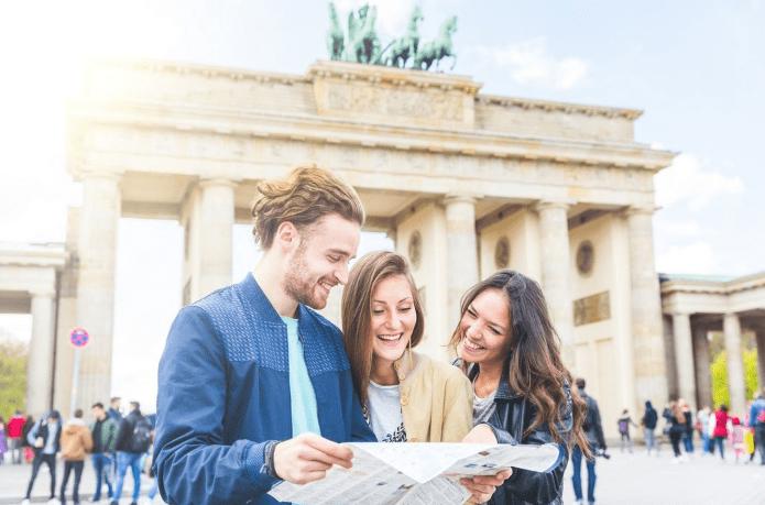 Brandenburger Tor- Berlin i Tyskland