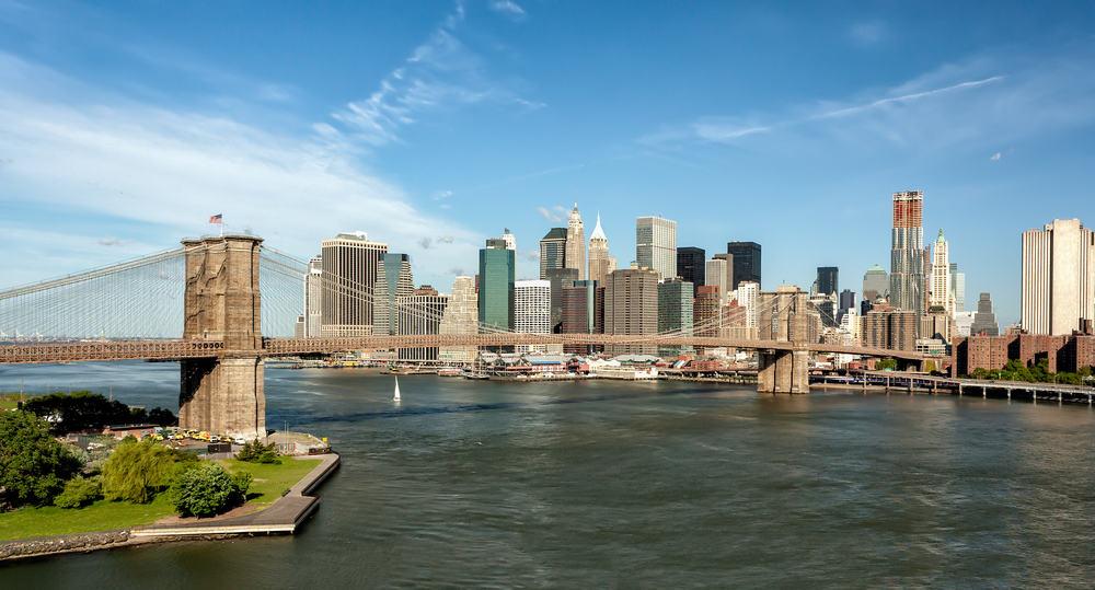 Brooklyn Bridge - New York City i USA