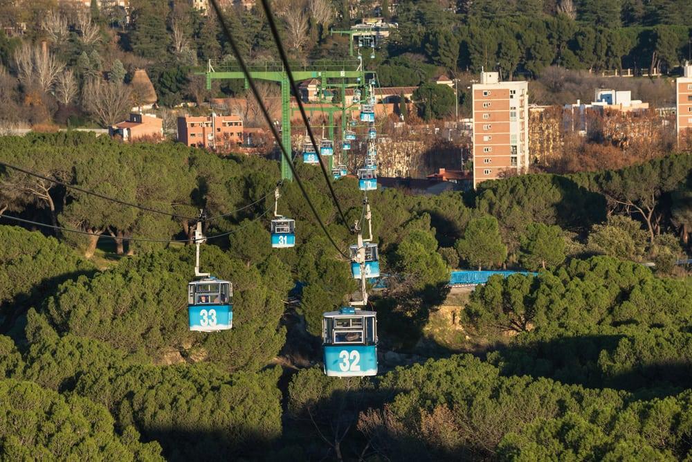 Casa de Campo Park - Madrid i Spanien